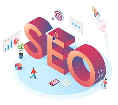 SEO Consultant Illustration